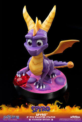 PREORDINE - First4Figures Spyro The Dragon PVC Figure Statua