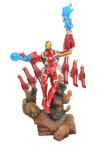 Marvel Gallery Avengers 3 Iron Man mark 50 Diamond Select Statua Figure