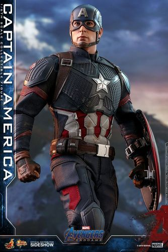 PREORDINE - Hot Toys Avengers Endgame Captain America Movie Masterpiece Figure
