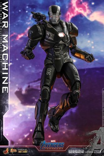 PREORDINE - Hot Toys Avengers Endgame War Machine Movie Masterpiece Figure