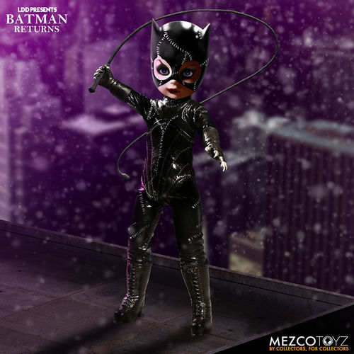 Mezco Living Dead Doll Batman Returns Catwoman Action Figure