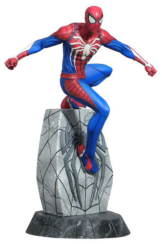 Marvel Gallery Spider-man Videogame Diamond Select Statue Statua Figure