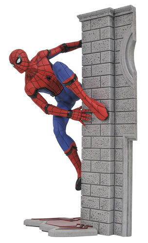 Marvel Gallery Spider-man Homecoming Diamond Select Statue Statua Figure