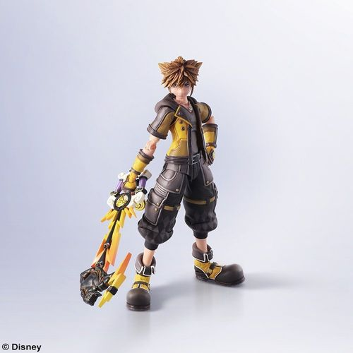 Bring Arts Kingdom Hearts III Sora Guardian Form Action Figure