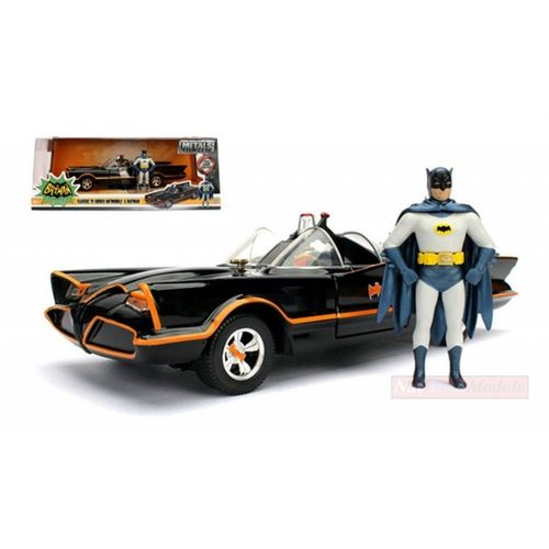 Jada Toys Batmobile Batman 1966 TV Series Diecast Figure Set