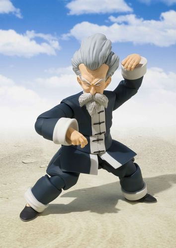 S.H. Figuarts Dragon Ball Jackie Chun Muten Action Figure Bandai