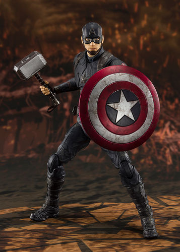 PREORDINE - S.H. Figuarts Avengers Endgame Captain America Final Battle Figure