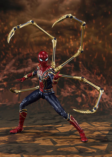 PREORDINE - S.H. Figuarts Avengers Endgame Iron Spider-man Final Battle Figure