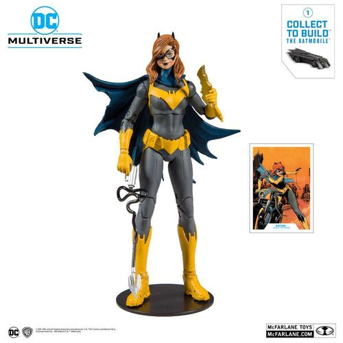 McFarlane Toys Batgirl Modern Art Of The Crime Action Figure