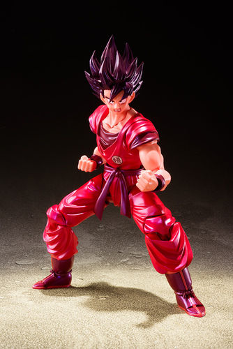 S.H. Figuarts Dragon Ball Z Goku Kaiohken Action Figure Bandai