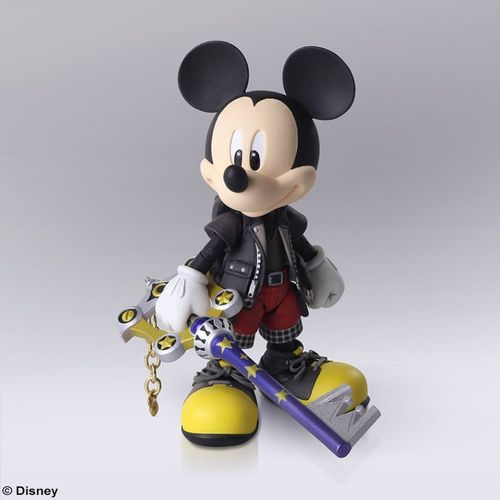 Bring Arts Kingdom Hearts III Mickey Mouse Topolino Action Figure
