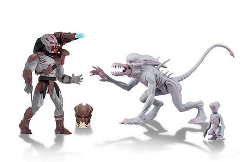 NECA Alien & Predator Classic Kenner Action Figure Set