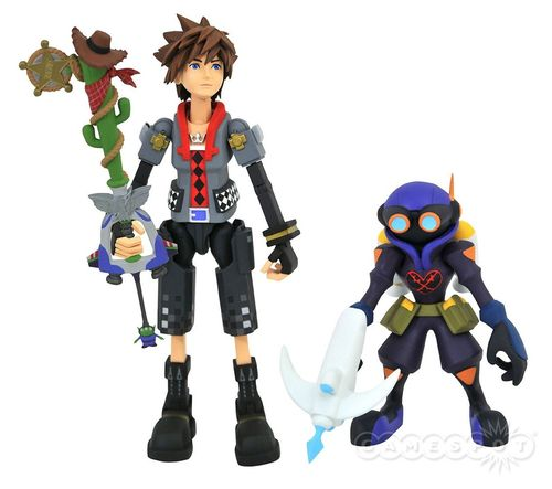 Kingdom Hearts 3 Sora Toy Story Diamond Select Action Figure