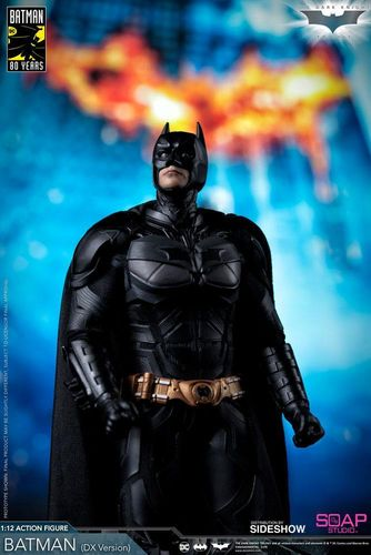 PREORDINE - Soap Studio Sideshow Batman The Dark Knight 1/12 Action Figure