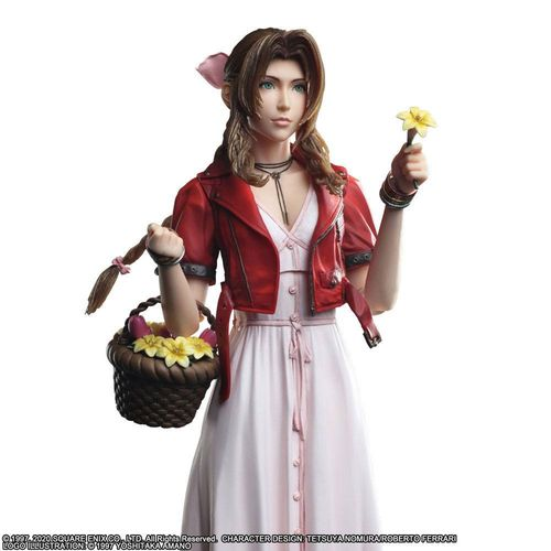 PREORDINE - Final Fantasy VII Remake Aerith Play Arts Kai Action Figure V2