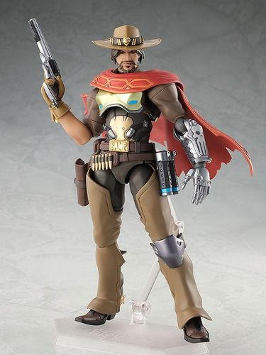 Figma Max Factory Mcree Overwatch Blizzard Videogame  Action Figure