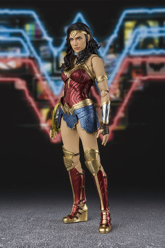 S.H. Figuarts Wonder Woman WW84 Gal Gadot Bandai Action Figure