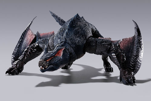 PREORDINE - S.H. MonsterArts Monster Hunter Nargacuga Bandai Action Figure