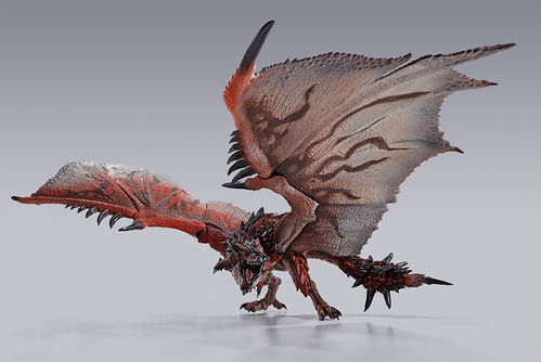 PREORDINE - S.H. MonsterArts Monster Hunter Rathalos Bandai Action Figure