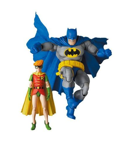 PREORDINE - MAFEX Batman Robin The Dark Knight Action Figures Set Medicom