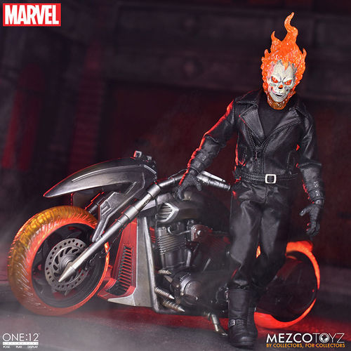 PREORDINE - Mezco One:12 Collective Ghost Rider Action Figure