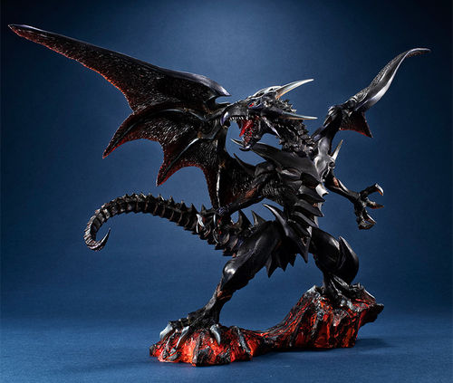 PREORDINE - Megahouse Yu-Gi-Oh RedEyes Black Dragon Duel Monsters Statua