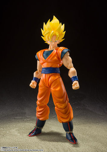 PREORDINE - S.H. Figuarts Dragon Ball Z Goku Full Power Action Figure Bandai