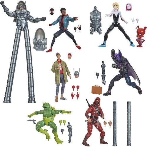 Marvel Legends Spider-man Into The Spider-Verse Wave 6 Action Figure