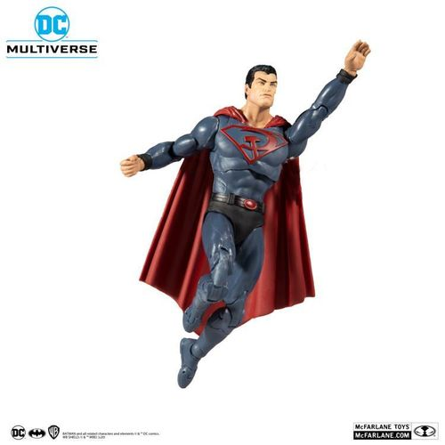 McFarlane Toys Superman Red Son Dc Multiverse Action Figure