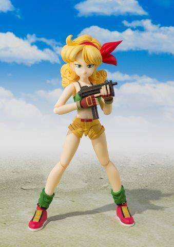 PREORDINE - S.H. Figuarts Dragon Ball Lunch Laura Action Figure Bandai