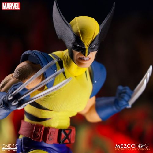 PREORDINE - Mezco One:12 Collective Wolverine Deluxe Steel Box Action Figure