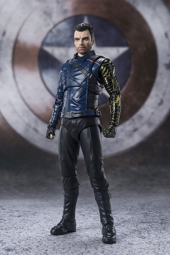 PREORDINE - S.H. Figuarts Falcon And Winter Soldier Bucky Action Figure
