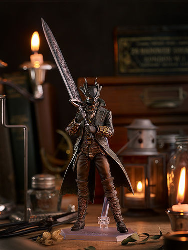PREORDINE - Figma Max Factory Bloodborne Old Hunters Deluxe Action Figure
